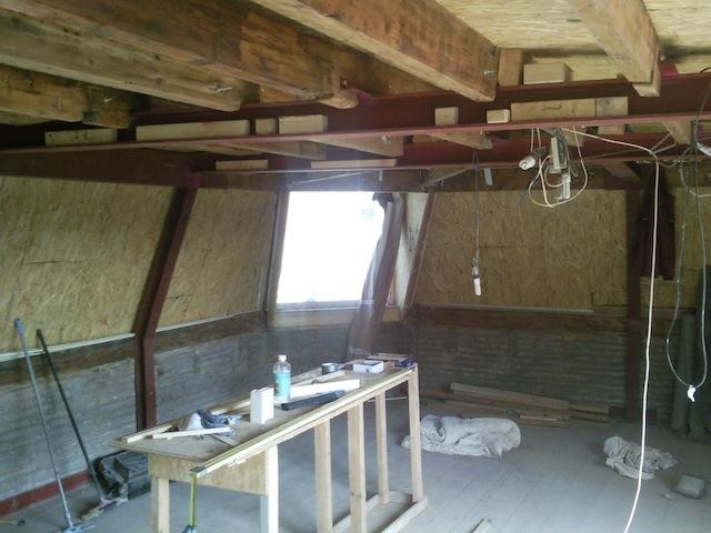 Vredenburg staal ipv hout