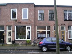 Cremerstraat, Utrecht straatgevel oud