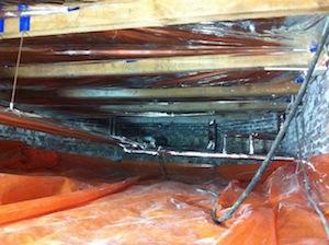 TONZON onder houten vloer