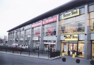 winkelcentrum te Amersfoort architect SVP